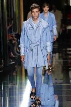 Balmain | Menswear - Spring 2017 | Look 7