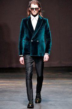 Men's black/beige tribal print tuxedo jacket by DSquared2 via ...