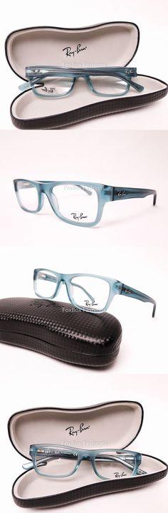 ea6746e816 Eyeglass Frames: Ray-Ban Rb 5268 5121 Eyeglasses Optical Frames Glasses  Transparent Blue 48Mm