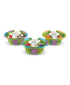 This New Sprouts® Healthy Breakfast, Lunch & Dinner Play Set is perfect! #zulilyfinds