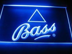 Bass Logo Bar Shop neon Light Sign