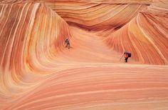 paisagem de Wave, no Arizona, EUA