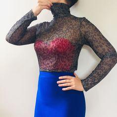 "SHOP VINTAGE THRIFTED on Instagram: ""SOLD . The summer turtleneck • Sheer leopard skin • Size M • $15 + postage • DM to purchase . . . . .  #secondhand #vintage #secondstuff…"" Turtleneck, Vintage Shops, Thrifting, High Neck Dress, Summer, Sweaters, Shopping, Instagram, Tops"