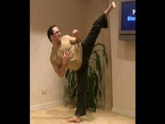 Martial Arts: Stop trying to kick high! Martial Arts Students Watch this video before you get hurt. Roundhouse Kick, Muay Thai Kicks, Martial Arts Styles, Taekwondo, Watch Video, Kickboxing, Stunts, Karate, Get Healthy