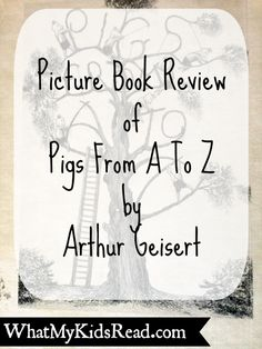 Pigs From A To Z by Arthur Geisert Picture Book Review
