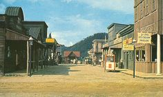 Ghost Town in the Sky - street scene from the old west ghost town attraction - Maggie Valley, NC North Carolina Mountains, North Carolina Homes, Haunted Places, Abandoned Places, Old Western Towns, Old West Town, Old West Photos, Maggie Valley, Mountain Park