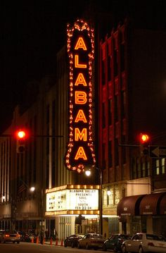 Must do every year - Holiday Film Series at the Alabama Theatre.