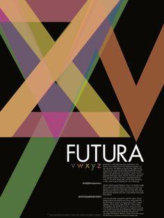 Futura poster... and i usually HATE futura..