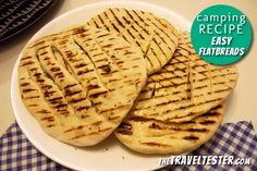 Camping Recipes - Easy Flatbreads 500 grams of flour is about 4 1/2 cups, 500 grams yogurt is about 2 1/4 cups.