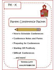 Parent conference folder school ideas pinterest parents parent conference packet spiritdancerdesigns Images