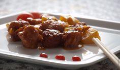 Курица вкисло-сладком соусе по-китайски