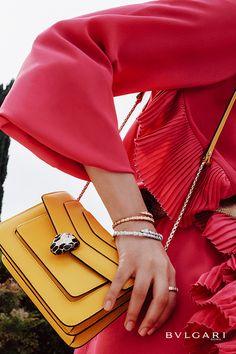 Bvlgari Serpenti, Purse Brands, Stylish Sunglasses, Bvlgari Bags, Branded Bags, Inspirational Gifts, Purses And Handbags, Style Guides, Fendi