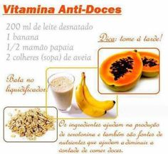 Suco contra doces!