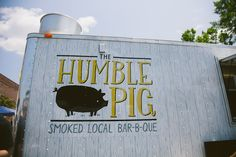 the humble pig @ durham's food truck rodeo! so good! // THE ARROW HOUSE