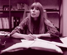"Joni Mitchell ""Your poetry, your singing and your painting, has glowed"" - Joni's former teacher, Arthur K.  #np Free Man in Paris"
