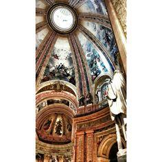 Hoy ha tocado turismo de iglesias. La #cupula más grande de #españa y la 4ª del mundo #madrid #sanfranciscoelgrande #ok_madrid #total_madrid #turismomadrid #turismoespaña #ok_spain #estaes_madrid #spain #church #art #cathedral #madrid_monumental #madridmemola #igersmadrid