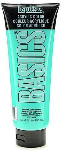 Liquitex Basics Acrylics Colors (Bright Aqua Green) - 8.5 oz.