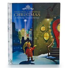 Hallmark Northpole ''Once Upon A Northpole Christmas'' Book