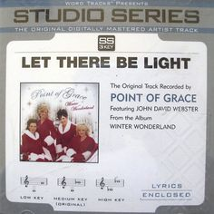 Point of Grace Let There Be Light Christmas 5trk Word Tracks w/Low Med High 2005 #Christmas