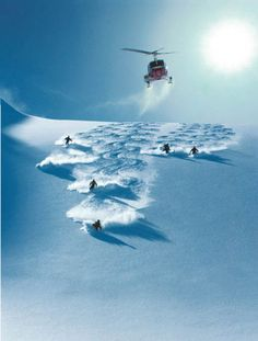 Heliskiing in the Himalayas - bucket list items, not necessarily in that order or together ;-)
