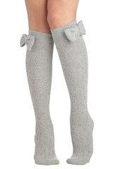Modcloth Baking Date Socks in Pepper in Gray (Grey) - Lyst.... Perfect for high boots