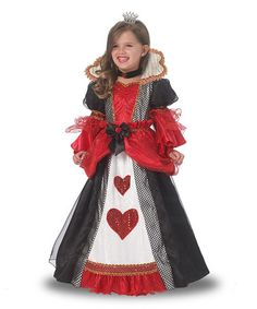 Look what I found on #zulily! Queen of Hearts Dress-Up Set - Girls #zulilyfinds