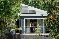Nielsen Jenkins creates backyard extension for K&T's Place in Brisbane.