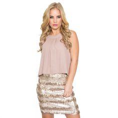 City Chic Sequin Dress