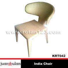 India Chair Kursi Rotan Sintetis  KRT042