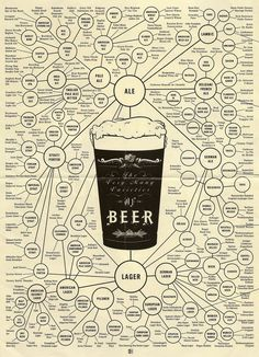 Ultimate Guide To Beer Styles Infographic - Alcohol