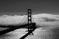 Hi-Def Pics - 20 Breathtaking Black and White Photos of Bridges From Around the World - My Modern Metropolis on we heart it / visual bookmark #551899