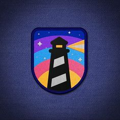 Lighthouse Patch.  #patch #lighthouse #icons #icondesign #vector #art #dailydesign #inspiration #design #picame #designinspiration #graphicdesign #creative #illustration #madethis#mockup #follow #graphicgang #graphicroozane #gfxmob #logoplace #logoroom #logoizm #iconaday #designarf #pirategraphic #visforvector #graphicdesigncentral #thedesigntip #arainspire