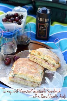 A delicious and easy sandwich that's perfect for a summer picnic!