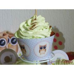 Décoration pour cupcake du kit printable