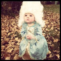 Marie Antoinette costume...the only question is:  this Halloween or next?