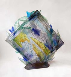 Evelyn Dunstan | Glass Artist :: Land Of Reflection