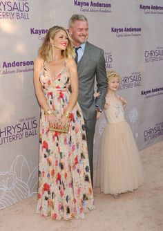 Pin for Later: Eric Dane and Rebecca Gayheart Each Have Their Own Twin in Adorable Daughters