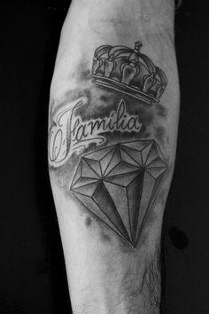 #tattoo, #diamante, #coroa,  #familia