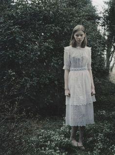 """The Look: """"The Virgin Suicides"""" - shot by Hellen van Meene for Paradis"""