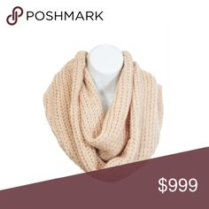 Coming soon! Cream infinity scarf Coming soon!! Estimated date of posting: 10/16  Please like this listing to be notified when they are available.   🚫CURRENT LIST PRICE IS NOT WHAT THESE WILL BE LISTED AT🚫 Accessories Scarves & Wraps
