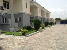 5 units of 3 bedroom terrace in Oniru - To Let - Terrace - Lagos, Onir Parking Space, Real Estate Information, Townhouse, Terrace, Swimming Pools, The Unit, House Design, Homes, Mansions