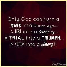 Only God Can Turn... #inspiration #triump #faith