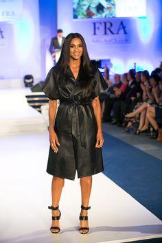 Ciara at the FRA Awards 2015 Leather Dresses, Awards, Beautiful Women, Shirt Dress, How To Wear, Shirts, Fashion, Moda, Shirtdress