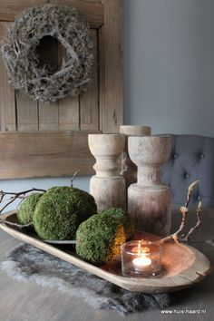 Wooden bowls natural wonders and rustic style on pinterest - Nieuw huis deco ...