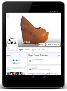 Calzados Onnik | activación en facebook + community management + contenidos + creatividad. www.facebook.com/calzadosonnik