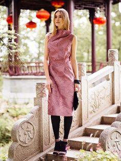 burda style, Schnittmuster, nähen - Kleid für den Abend