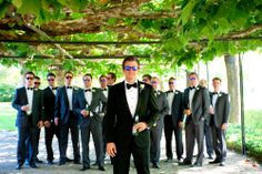 Groomsmen - California Wedding  http://caratsandcake.com/michelleandtommy
