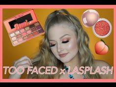 TOO FACED x LASPLASH PEACH SPARKLE EYE LOOK | Kalyn Braun - YouTube About Hair, Snapchat, Peach, Sparkle, Eyes, Videos, Makeup, Youtube, Maquillaje