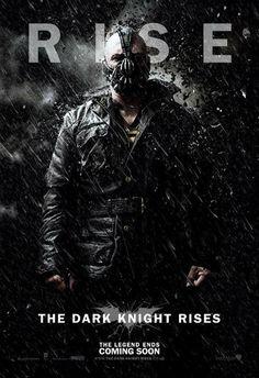 Die ersten annehmenbaren Dark Knight Rises Poster. Die zu The Dark Knight waren deutlich schicker.