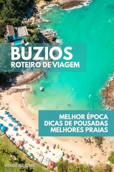 Búzios RJ: Dicas e Roteiro de Viagem em 4 Dias - Como Chegar, Onde Ficar e Qual a Melhor Época #Buzios #Búzios #RJ #RiodeJaneiro #DicasdeViagem #Roteiro #Viagem